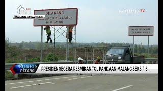 Senin (15/5), Presiden Jokowi Resmikan Tol Pandaan-Malang Seksi 1-3