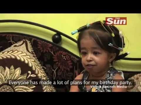 World's shortest girl Jyoti Amge