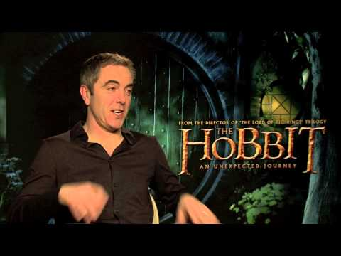 The Hobbit -- James Nesbitt (Bofur) Interview