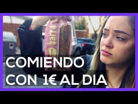 COMIENDO POR 1€ AL DÍA DURANTE UNA SEMANA EN ESPAÑA (RETO VEGETARIANO) - Sabrina Reboll