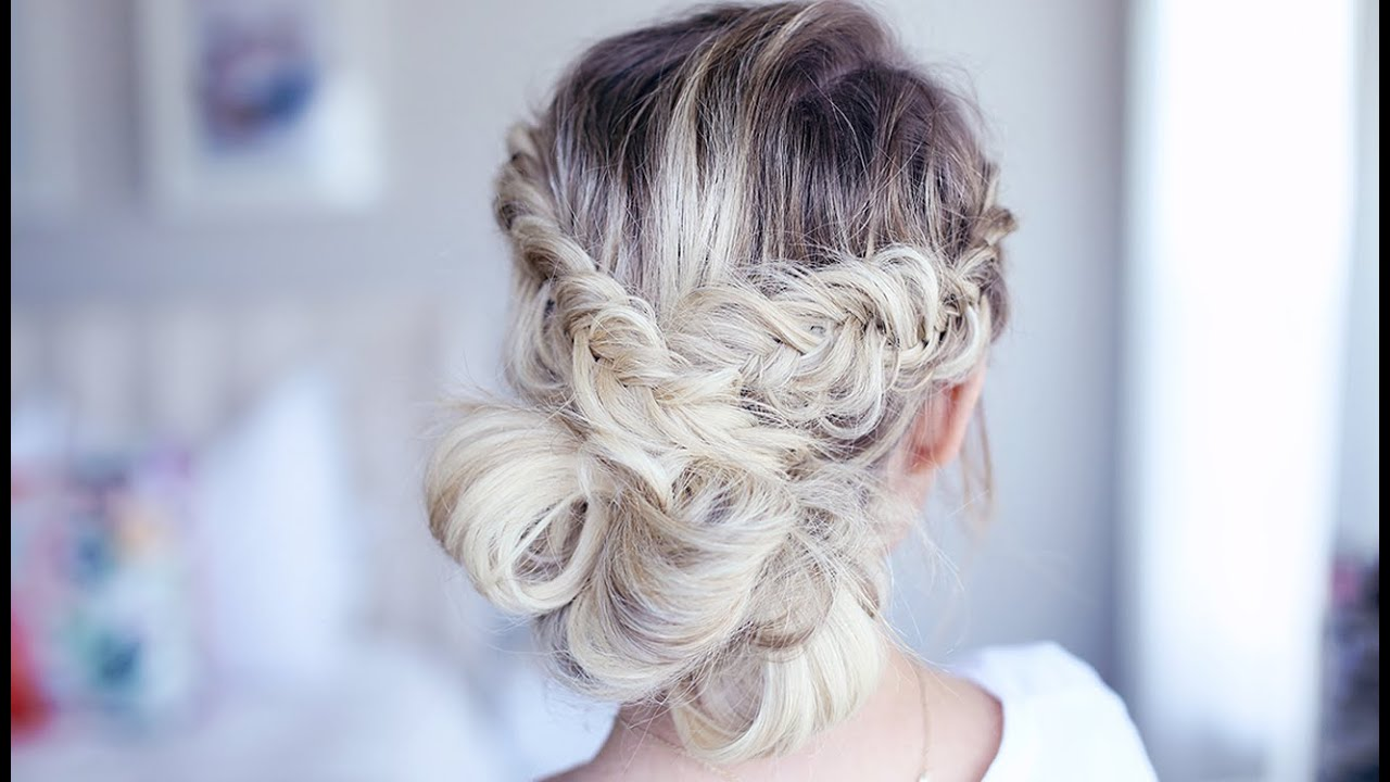 Fancy Fishtail Updo | Homecoming Hairstyle | Cute Girls Hairstyles ...