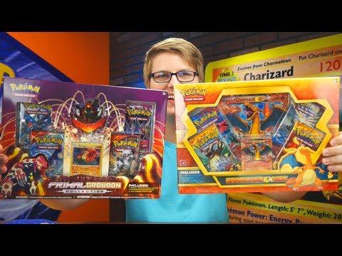 CHARIZARD EX BOX & PRIMAL GROUDON BOX !