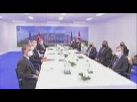 Biden meets with Turkey's Erdogan at NATO summit