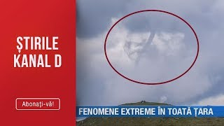 Stirile Kanal D09.06.2019   Fenomene Extreme In Toata Tara  Editie De Pranz