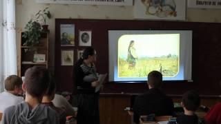 учитель Остришко Л.М. урок української мови, 9 клас