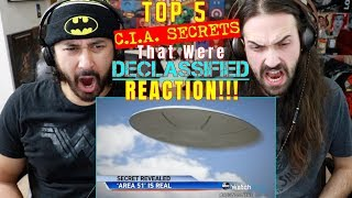 TOP 5 CIA SECRETS That Were Declassified - REACTION!!!