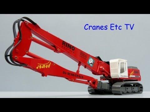 Conrad Liebherr R 954 BV Demolition Excavator 'Rino' By Cranes Etc TV