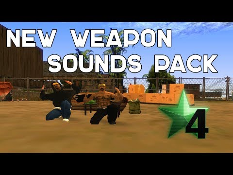 Weapon Sounds Pack For GTA San Andreas