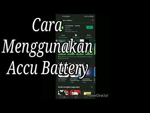 Cara Menggunakan Accu Battery, Aplikasi Cek Kesehatan Baterai Android