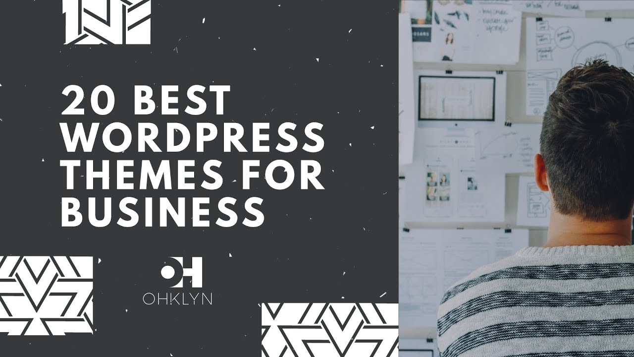 20 best wordpress themes for business 2018   youtube