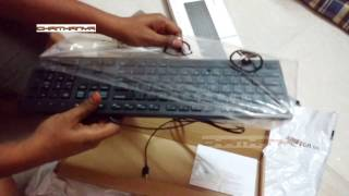 UNBOXING DELL KB216 Wired Multimedia USB Keyboard