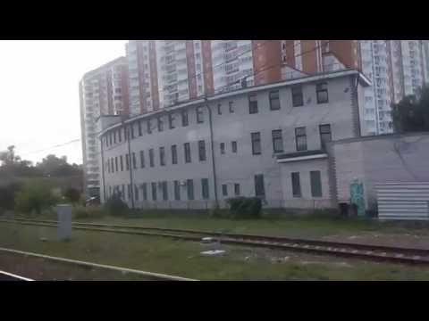 . 33км-Реутов-Москва-Курский вокзал. Поездка на электричке Петушки-Москва