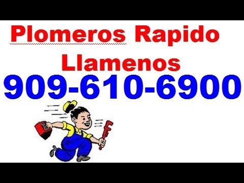Plomerias en Riverside Ca | Plomero 24 Horas de Emergencia en Riverside Ca