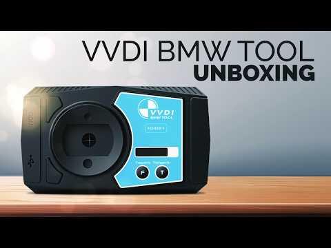 VVDI BMW Tool Unboxing