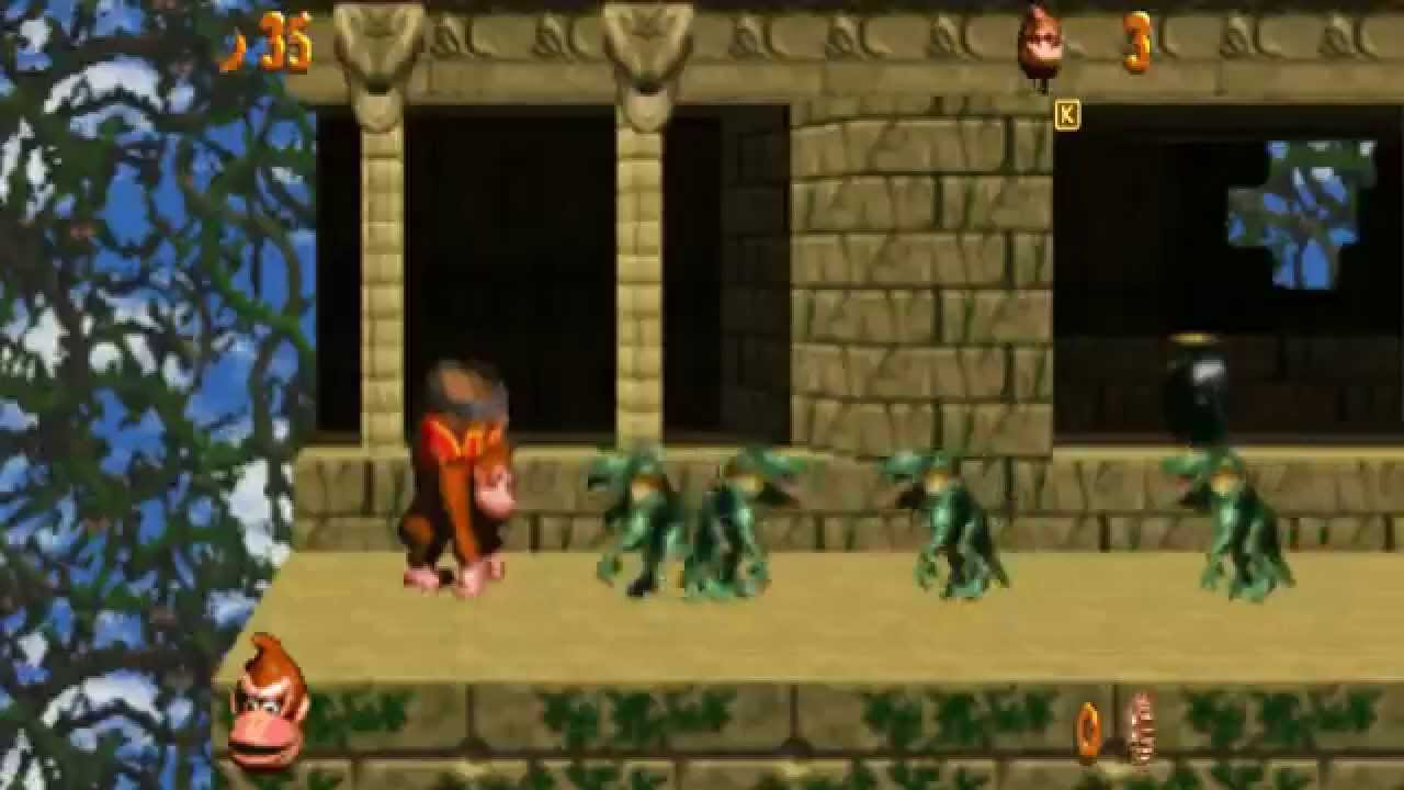 Donkey Kong Country Doom Mod 60fps Youtube