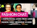 Pattern Cutting + Fashion: Chat: London Fashion Week - 3 inspirational looks from Menswear S/S 2020