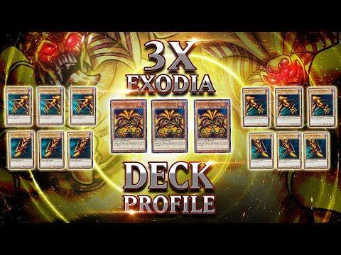 INSANE 3x EXODIA Deck Profile | YuGiOh Raid Boss Battles