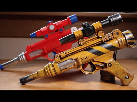 Toy Ray Gun -Paint Job