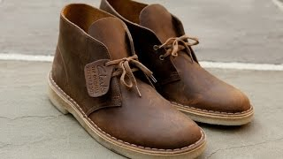 How To Clean Clarks Desert Boots (Suede