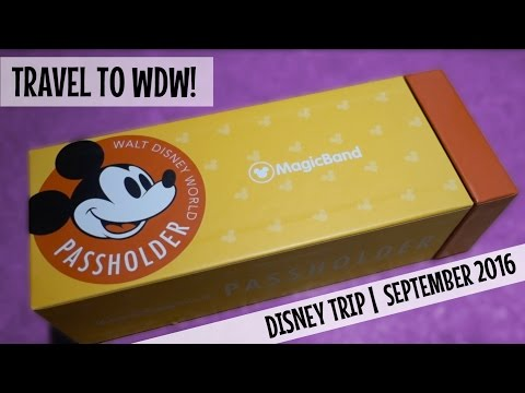 WALT DISNEY WORLD VACATION September 2016 | TRAVEL DAY to Orlando and Checking into our AirBnB!