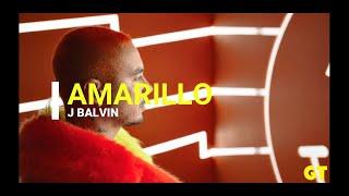 AMARILLO - J Balvin - LETRA (LyRiCs)