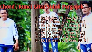 Download KUNCI GITAR...!!!Lirik sidoli pargojek - Tioma Trio