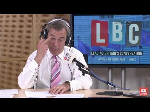The Nigel Farage Show: Jeremy Corbyn. Live LBC - May 9th 2017