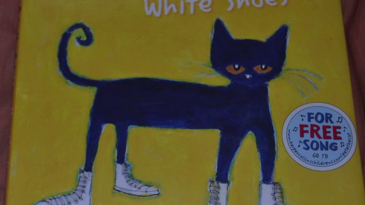 Pete The Cat I Love My White Shioes