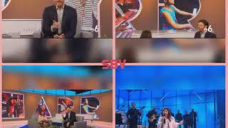 Angelica Hale  performs at Harry Connick Jr Show