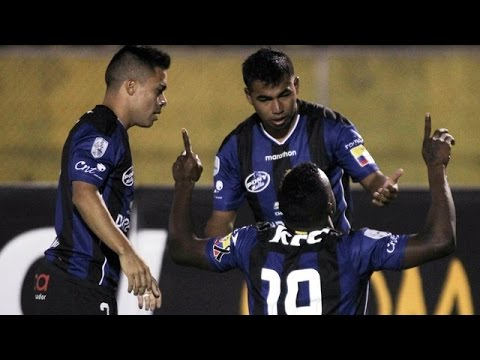 Melhores Momentos De Independiente Del Valle 2 X 0 River Plate - TAÇA LIBERTADORES  28/04/16