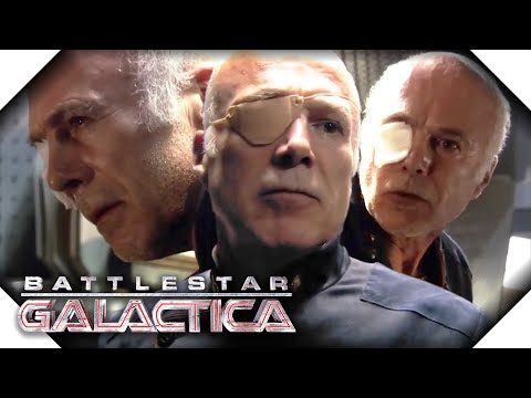 Battlestar Galactica  The Best Of Saul Tigh