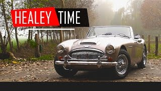 AUSTIN HEALEY 3000 MKIII 1967 - Test Drive in top gear - Engine Sound | SCC TV