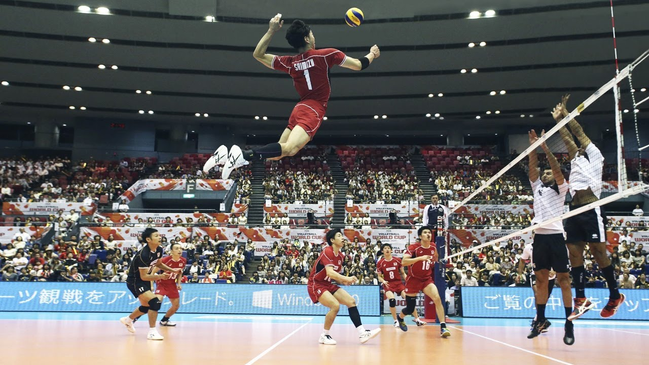 Kunihiro Shimizu 清水邦広  | Monster of the Vertical Jump