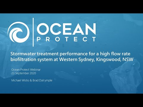Stormwater treatment performance for a high flow biofiltration system at Western Sydney, NSW