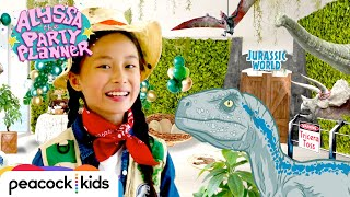 How To Throw A Jurassic Party with REAL VOLCANO Dip   ALYSSA THE PARTY PLANNER