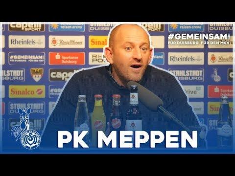 Mehr Wucht, aber nicht kopflos | PK vor Meppen | #MSVSVM - ZebraTV | 01.10.2019