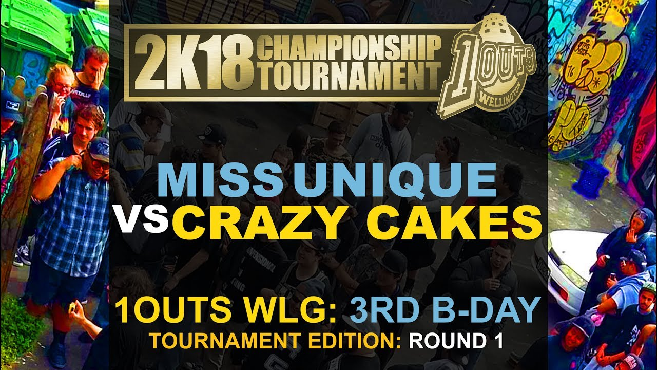 1outs Wlg 3rd Bday Crazy Cakes Vs Miss Unique Youtube