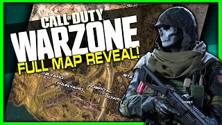 Warzone Map Revealed!   All Known Locations & New Maps Discovered! (Modern Warfare)