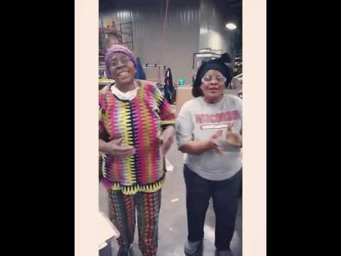 Congo woman singing in Swahili