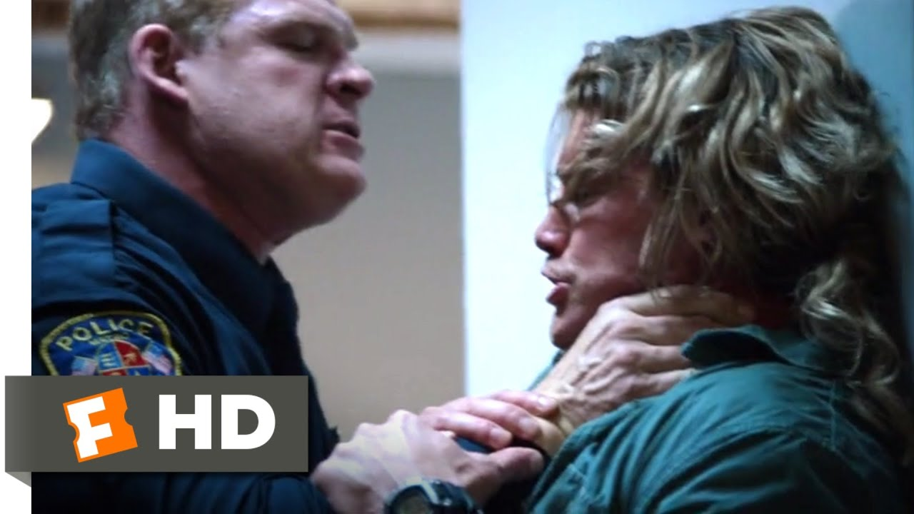 Download Countdown (2016) - Punching Out of the Precinct Scene (3/5)   Movieclips