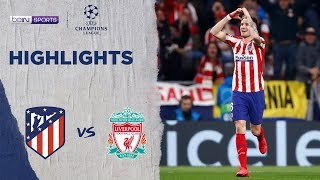 Atletico Madrid 1-0 Liverpool | Champions League 19/20 Match Highlights