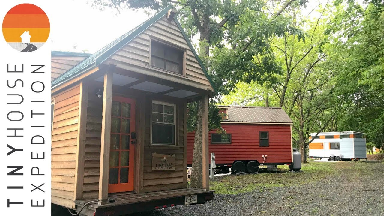 LIVE from Tiny Estates // Tiny House Community & Resort - YouTube