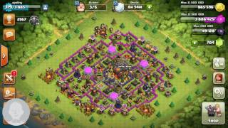 BEST LOOT ATTACK TH9 TH10 TH11!!!!