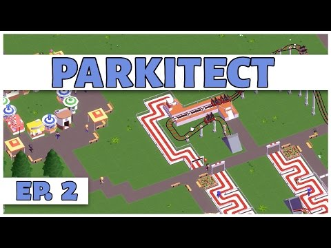 Parkitect - Ep. 2 - Building the Kid Zone! - Let's Play - [Parkitect Gameplay]