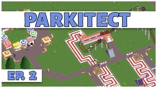 Parkitect - Ep. 2 - Building the Kid Zone! - Let