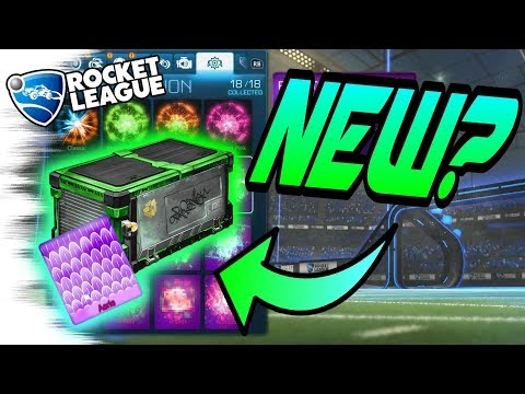 Rocket League Update??? - NEW MYSTERY DECALS & GOAL EXPLOSIONS from the Community? (Trading/Crates)