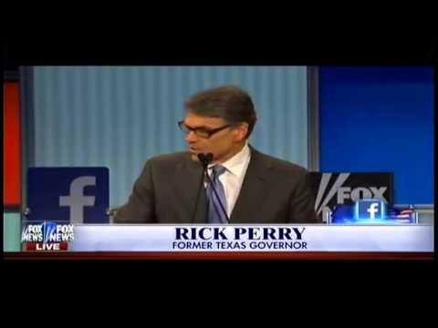 Early Republican Presidential Candidates Debate Santorum, Perry etc   8 6 2015