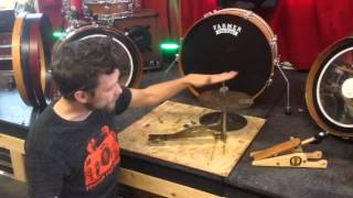 Lowboy cymbals foot pedal revisited