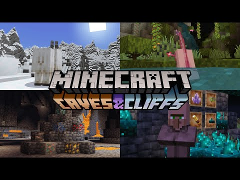 50 New things added in Minecraft 1.17 Caves & Cliffs Update