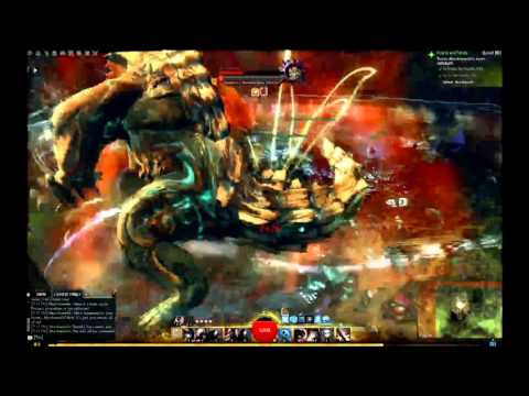 Guild Wars 2 Mordremoth Boss Fight Solo With Thief [No Spoilers]